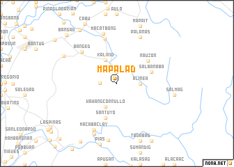 map of Mapalad