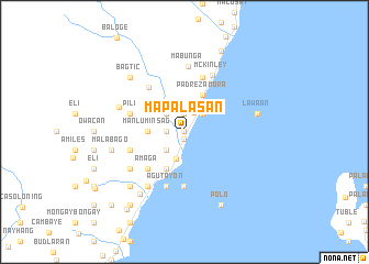 map of Mapalasan