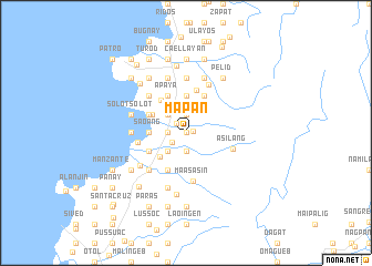 map of Mapan