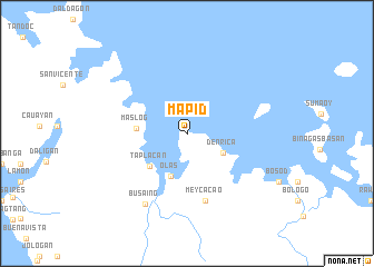 map of Mapid