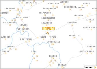 map of Mapuri