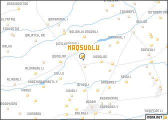 map of Maqsudlu