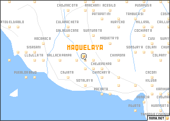map of Maquelaya