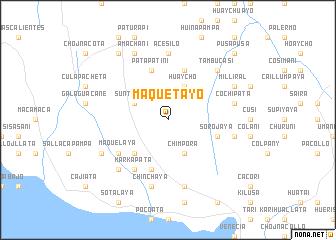 map of Maquetayo