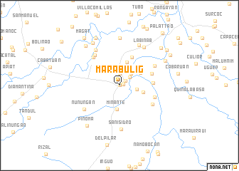 map of Marabulig