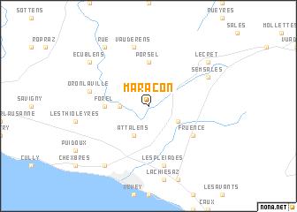 map of Maracon