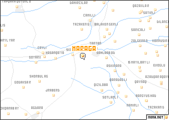 map of Maraga