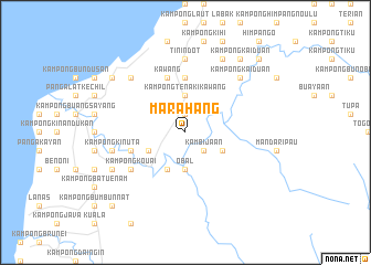 map of Marahang