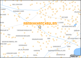 map of Marakh Khān Chaulāni