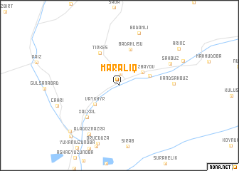 map of Maralıq