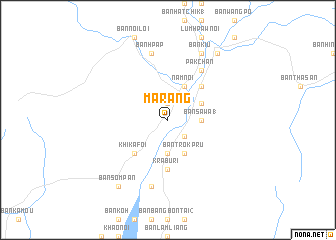 map of Marang