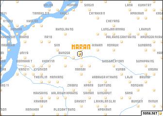 map of Maran