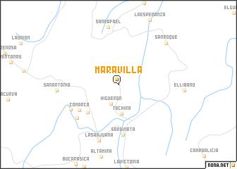 map of Maravilla