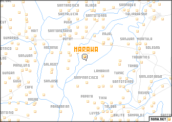 map of Marawa