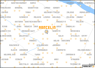 map of Marcelin