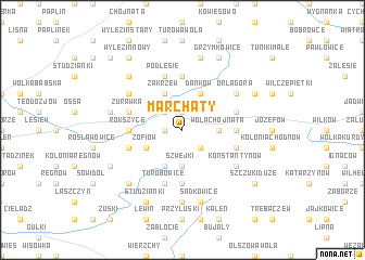 map of Marchaty