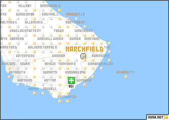 map of Marchfield