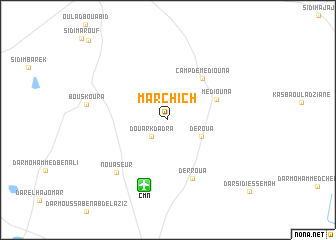map of Marchich