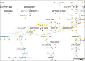 map of March