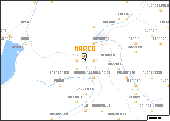 map of Marco