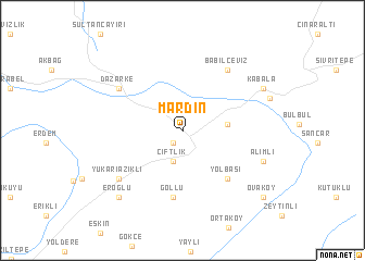 Mardin Turkey map nonanet
