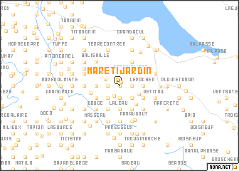 map of Mare Ti Jardin