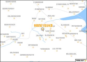 map of Mareyevka