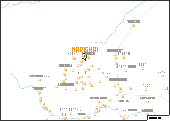 map of Marghai