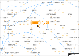 map of Margitmajor