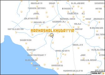 map of Marhash al Khuḑayyir