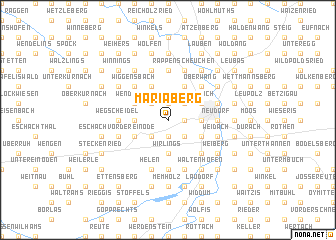 map of Mariaberg