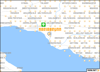 map of Mariabrunn