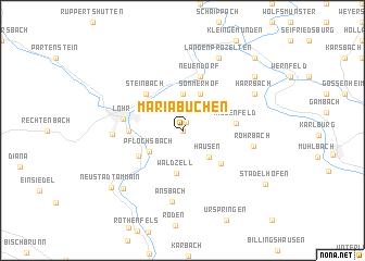 map of Mariabuchen
