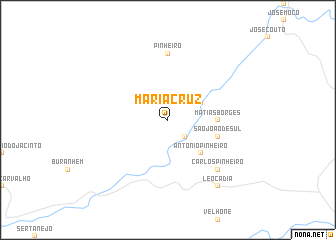 map of Maria Cruz