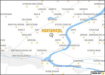 map of Mariampol