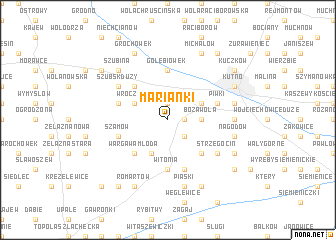 map of Marianki
