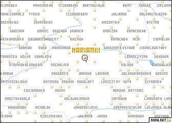 map of Marianki