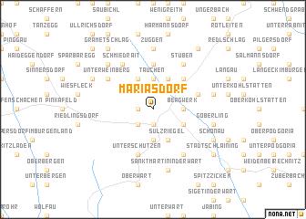 map of Mariasdorf