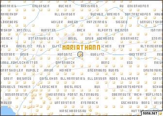 map of Maria-Thann