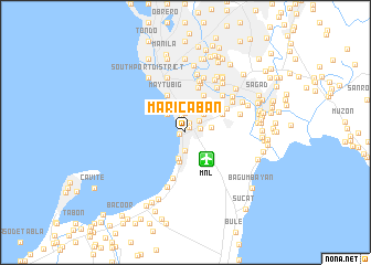 map of Maricaban
