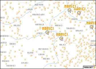 map of Marići
