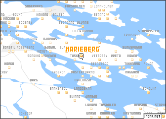 map of Marieberg