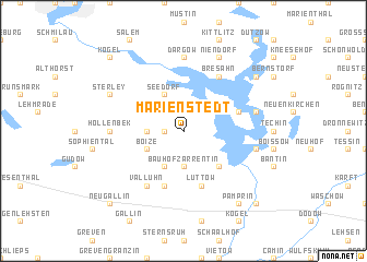 map of Marienstedt