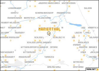 map of Marienthal