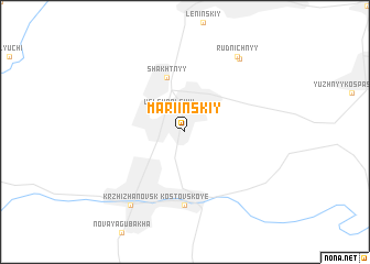 map of Mariinskiy