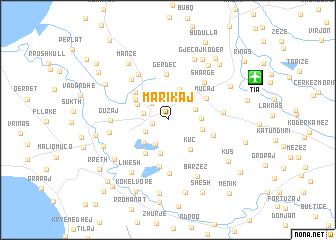 map of Marikaj