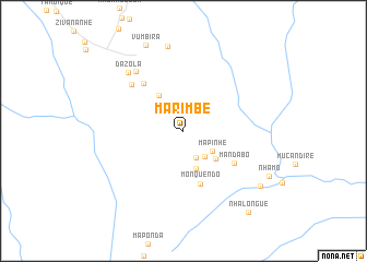 map of Marimbe