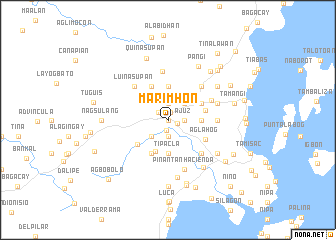 map of Marimhon