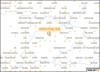 map of Marinheira