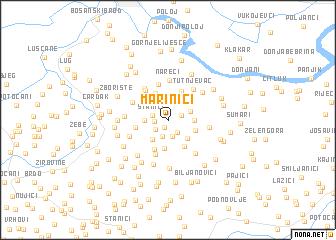 map of Marinići
